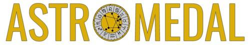 logo astromedal la medalla astral talisman personal