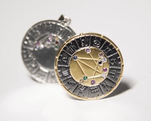 materiales y características astromedal la medalla astral astrología