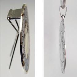 astromedal joya talisman broche y colgante