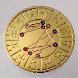 astromedal joya talisman oro